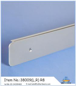 38mm aluminium profiles for countertop
