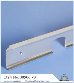 Anodizing matt aluminium profiles