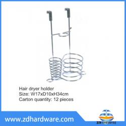 bathroom hardware hair dryer holder