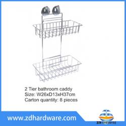 bathroom hardware shower baskets with stucker