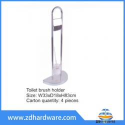 bathroom hardware toilet brush holder